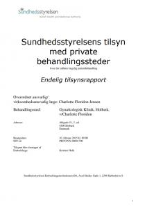 Holbæk gynækolog i Gynækologisk Ambulatorium